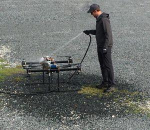UMAR Tether Drone fresh water rinse
